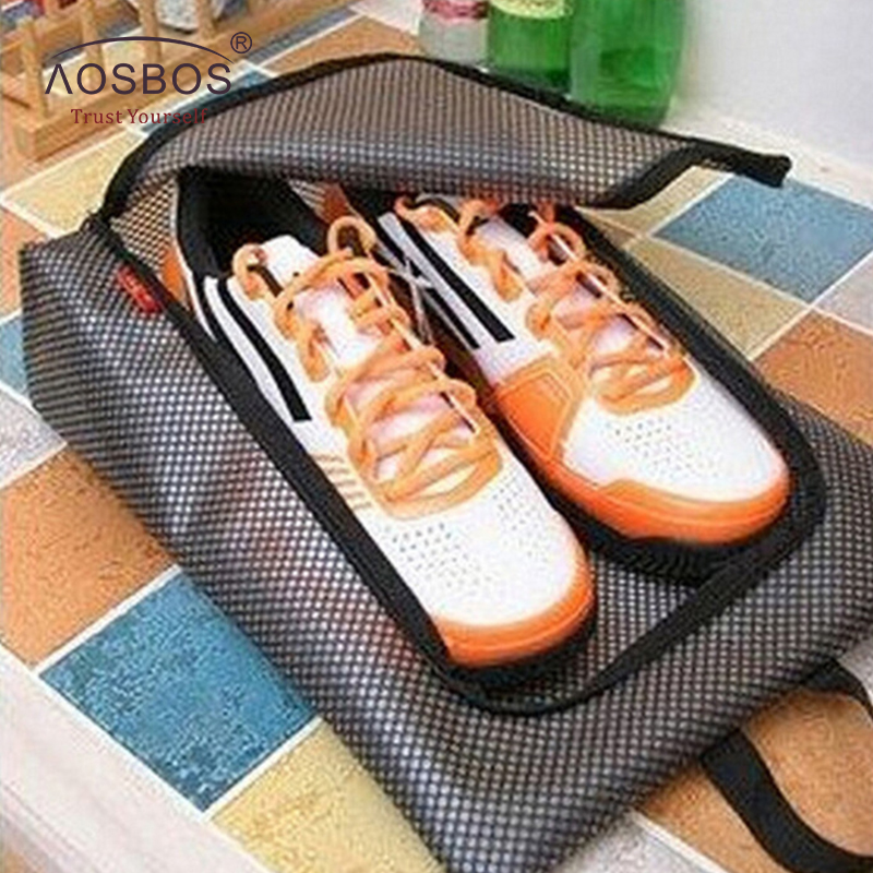 New Women Men Training Bag Sports Waterproof Shoe Bag  Lightweight Oxford Gym Bags Fitness Travel  Zipper Storage Pouch