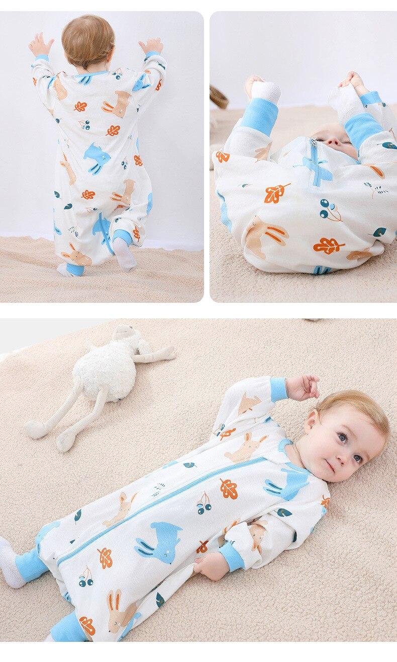 crianças pijamas recém-nascidos macacão, saco de dormir