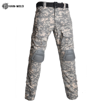 Military Uniform  Tactical Combat Shirt Us Army Clothing Tatico Tops Airsoft Multicam Camouflage Hunting FishingPants Elbow/Knee 18