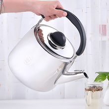 Stainless Steel Kettle Whistle Sounding Gas Induction Cooker Universal Thickened Whistling Water Kettles