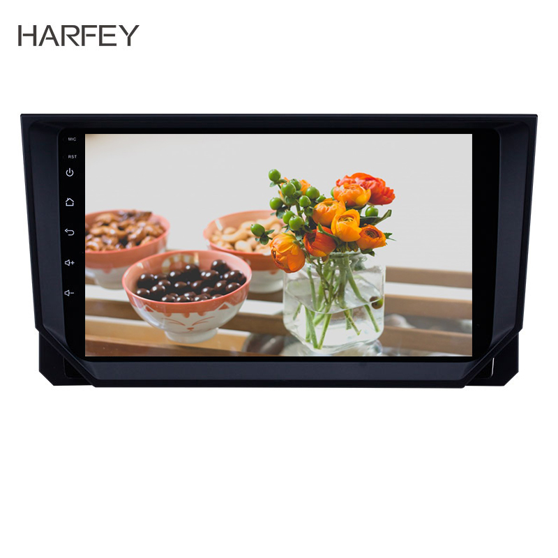 Harfey Android 8.1 GPS <font><b>Radio</b></font> FM Transmitter 9 inch MP5 Player for <font><b>2018</b></font> <font><b>Seat</b></font> <font><b>Ibiza</b></font> Support TPMS Carplay DVR Car Multimedia Player image