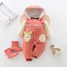 Новинка Одежда для новорожденных с карманами комбинезон маленьких