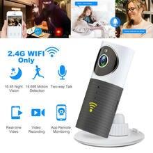 Беспроводная мини камера видеонаблюдения 720p hd wi fi