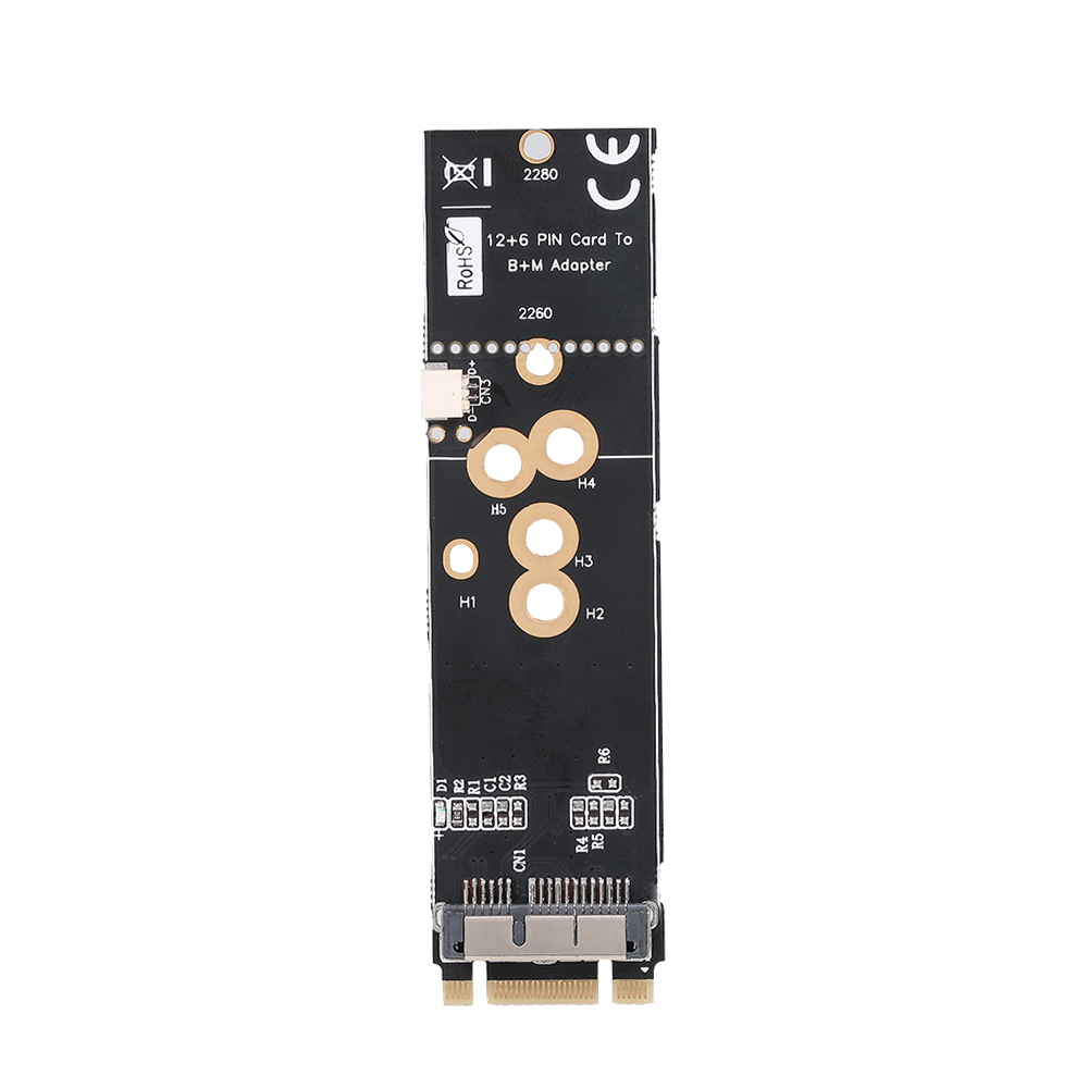 M.2 NVME SSD Adapter Card Connector Converter For BCM94360CD BCM94331CD BCM94360CS BCM943602CS BCM94360CS2(China)