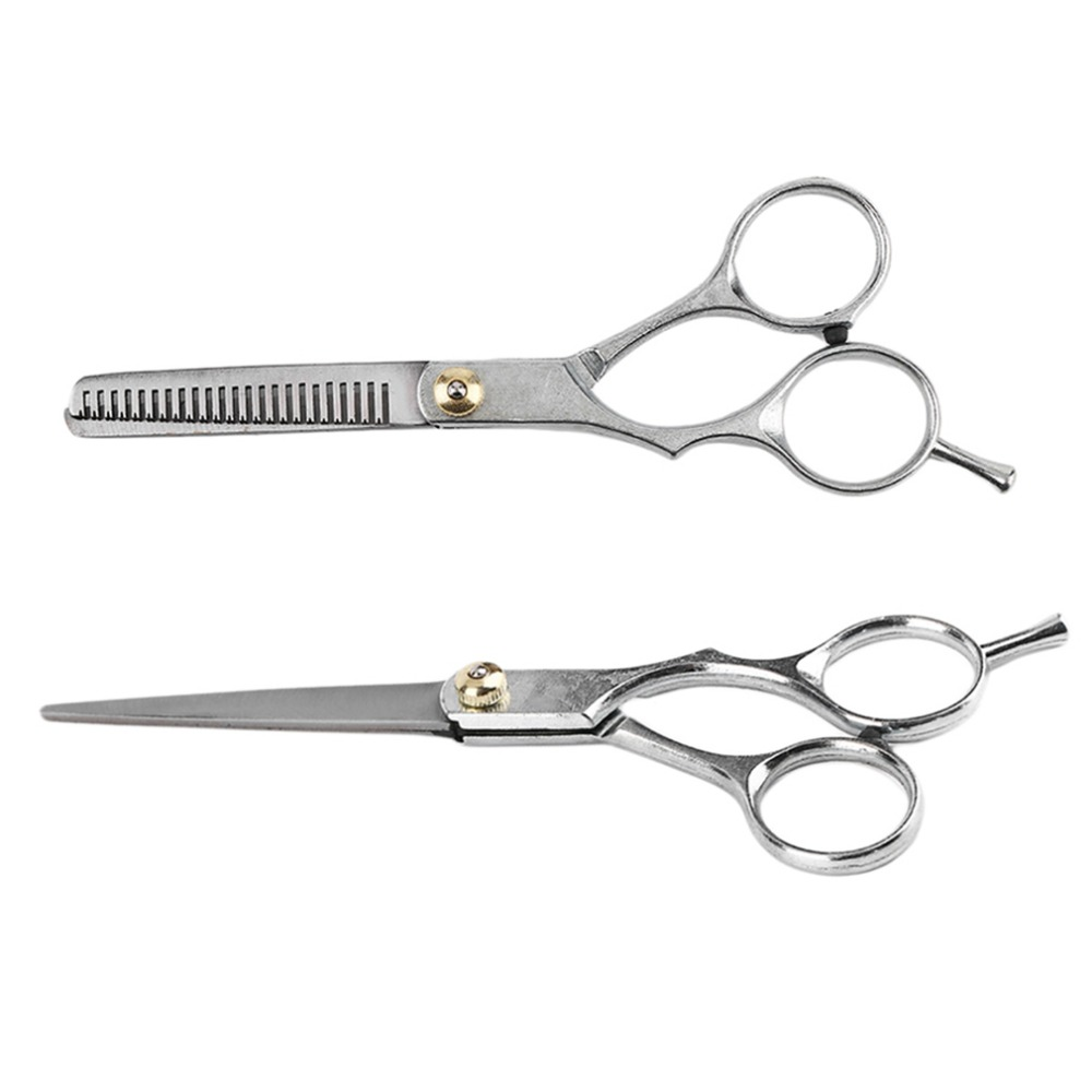Salon Scissors Shears Clipper Hair Cut Barber Hairdressing Regular Cutting Scissor Thinning Scissor With Thumb Rest Hot New