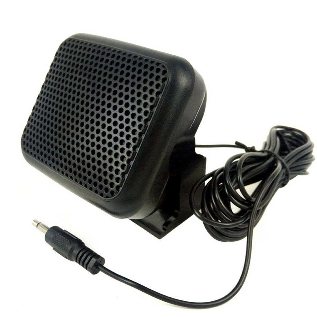 Mini External Speaker NSP - For Yaesu For Kenwood For ICOM For Motorola Ham Radio CB Hf Transceiver External Speaker
