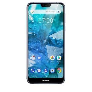"Image 5 - Nokia 7.1 küresel sürüm cep telefonu NFC 5.84 ""Snapdragon 636 Octa çekirdek 4GB RAM 64GB ROM parmak izi NFC cep telefonu"