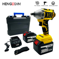 Brushless impact wrench Electric tools makita model battery Multifunctional Pure copper motor