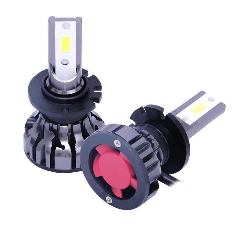 Bộ 2 phụ kiện Ô Tô ĐÈN LED Đèn Pha 6000LM 6500 K D Series D1/D2/D3/D4/D5 đa năng nhôm Hàng Không 7