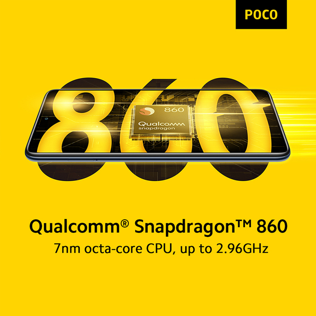 Global Version In Stock POCO X3 Pro Snapdragon 860 Smartphone 6+128GB 120Hz DotDisplay 33W Charging 5160mAh Quad AI Camera 3