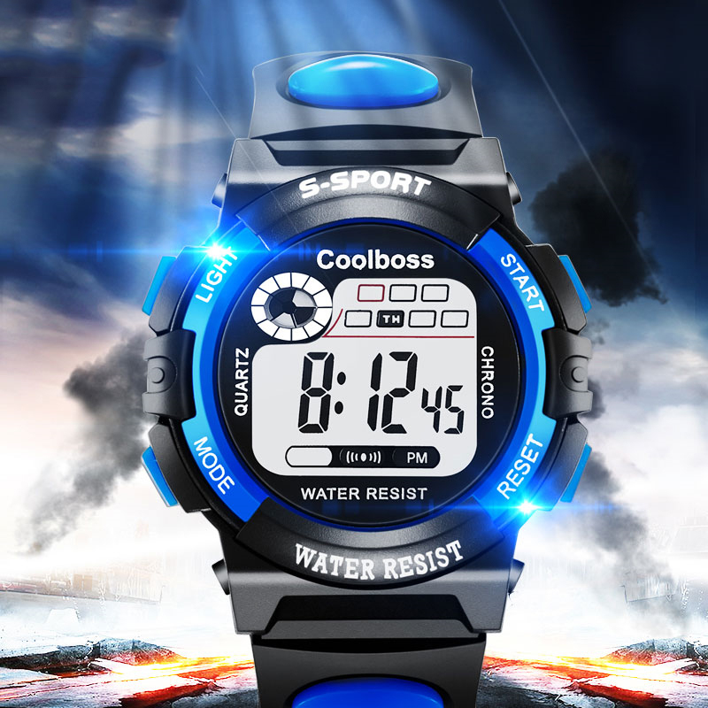 Children Watch Kids Watches Sport Student Boys Girls Clock Child LED Digital Wristwatch Electronic Wrist Watch For Boy Gift Girl