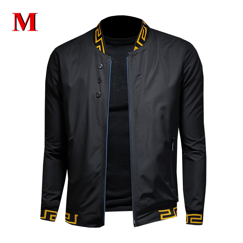 MENNE 2020 New Men Jacket Classic Casual Jacket Men Zipper Coat