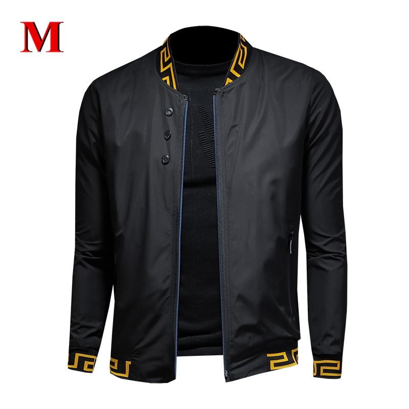 MENNE 2020 New Men Jacket Classic Casual Jacket Men Zipper Coat