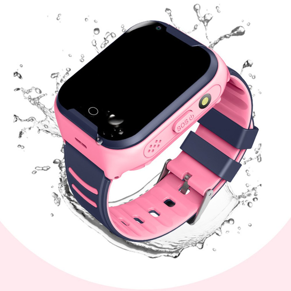 2019 4G Smart Watch Kids Android 4.4 WiFi Touch Screen Camera GPS Tracking SOS Call Children Watch