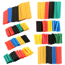 328 PCS/Set Polyolefin Heat Shrink Tube Kit Insulation Sleeving Termoretractil Shrinking Assorted Heat Shrink Tubing Wire Cable