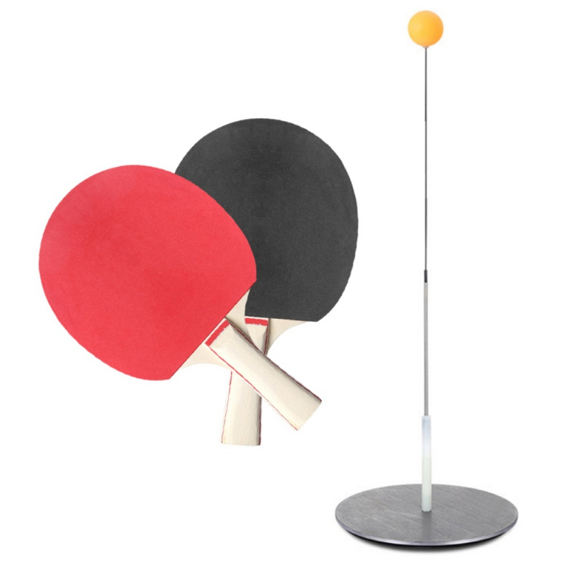 Portable Elasticity  Ping Pong Table Tennis Practice Trainer With Soft Shaft Leisure Decompression Sports ZX00