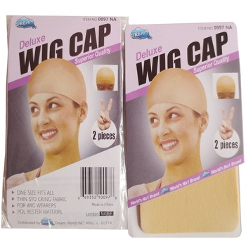 20 pieces Beige Wig Cap Polyester Hairnet Hair Mesh Wig Weaving Cap Stretchable Elastic Hair Net 2 Pieces/PACK 5 color 1