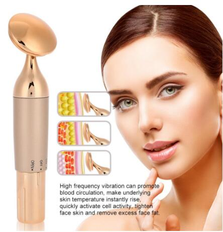 Ultrasonic Ion Face Slimming Tighten Massager Shrink Pore Face Beauty Device Facial Skin Lifting Spa Cleaner Anti-ageing