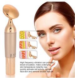 Ultrassônico Íon Rosto Massageador de Emagrecimento Apertar Encolher Poros Dispositivo Rosto Beleza Levantamento Da Pele Facial Spa Limpador Anti-envelhecimento