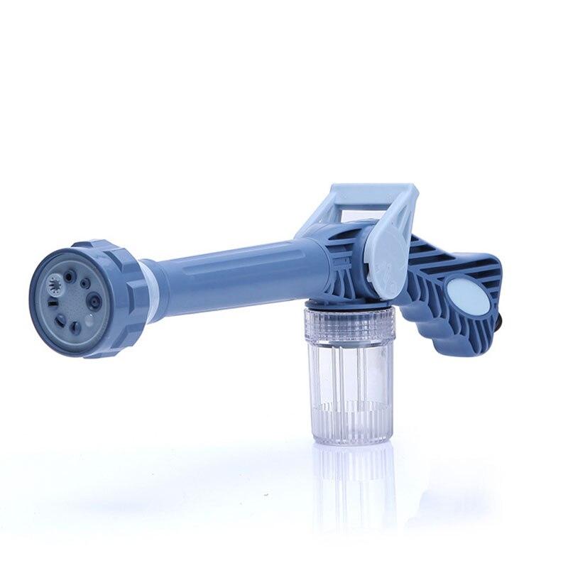 Multifunctional Sprinkler 8 IN 1 Garden Hose Nozzle Water Soap Dispenser Pump Spray Gun Car Washing Machine Cleaning
