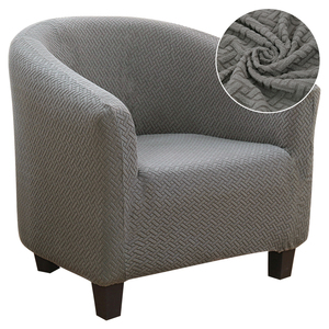 Knitter Jacquard Sofa Armchair Seat Cover Elastic Coffee Tub Sofa Armchair Seat Cover Protector Slipcover Home Chair Decor NEW