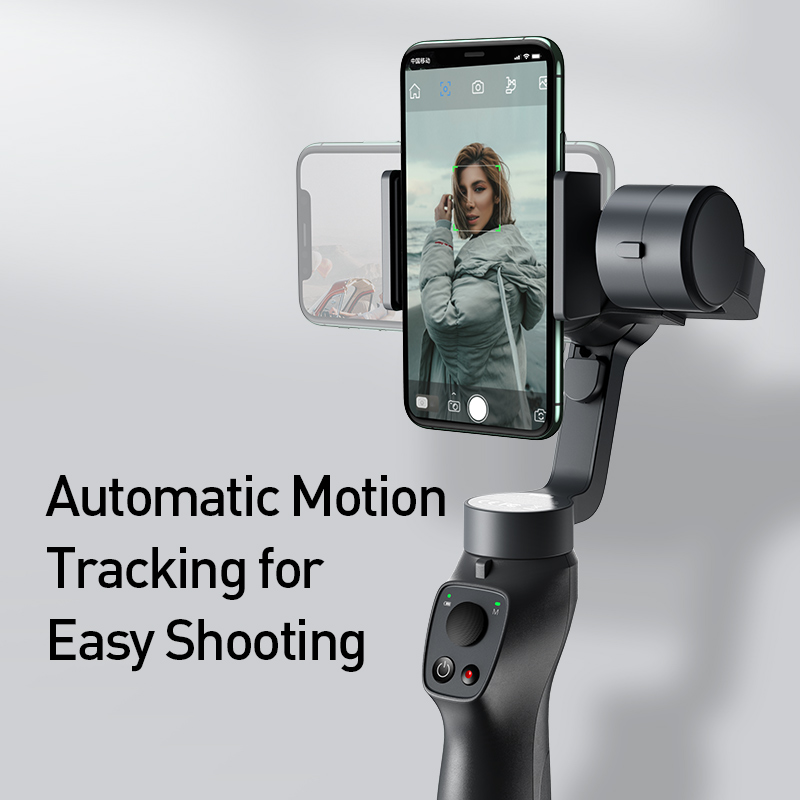 Hot DealsBaseus Selfie-Stick Gimbal-Stabilizer Action Camera Outdoor-Holder Handheld iPhone Pull--Zoom