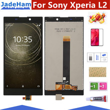 Mobile Phone LCD Screen LCD Screen and Digitizer Full Assembly for Sony Xperia L2(Black) LCD Screen все цены