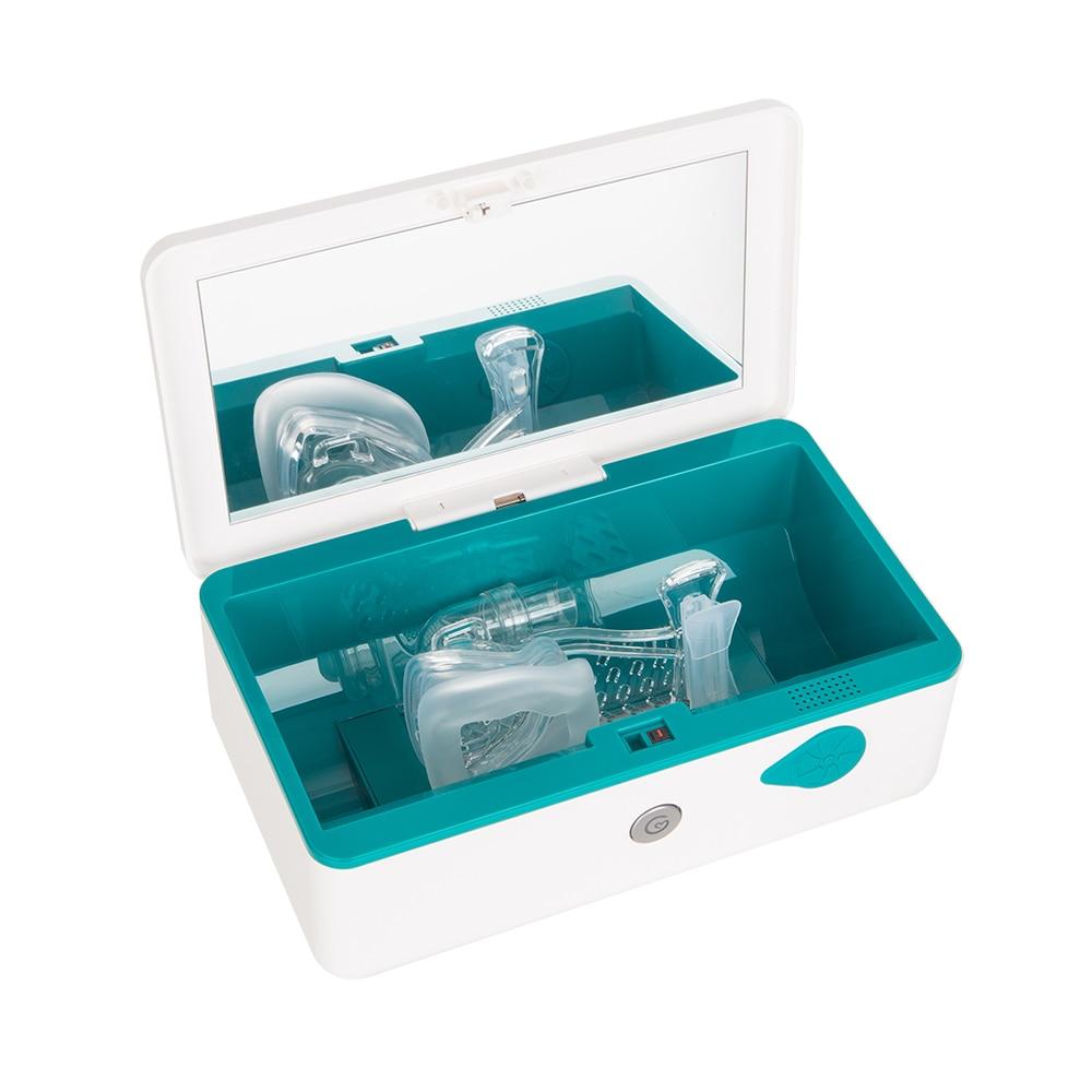 CPAP środek czyszczący i dezynfekujący CPAP środek czyszczący dostarcza ozon bezpłatny UV do maski CPAP i rurki powietrzne Respirator rurowy