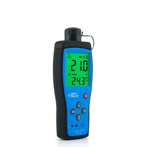 Image 3 - Ручной анализатор кислорода и газа, детектор O2, тестер, измеритель, монитор качества воздуха в помещении, термометр с сигнализацией, 0 30% AR8100