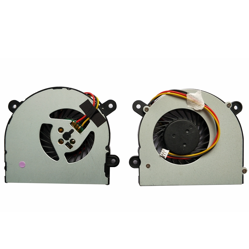 Laptop CPU Cooler Fan For MSI S6000 X600 CLEVO 7872 C4500 By ADDA AB6505HX-J03 AB6605HX-J03 6-31-W25HS-100 BS5005HS-U89