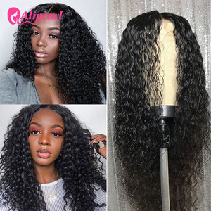 AliPearl Hair Wigs Deep Wave Lace Front Human Hair Wigs Ali Pearl Hair 180 250 Density Brazilian Human Hair Wigs For Black Women(China)