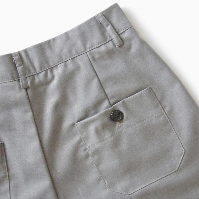 S-3XL Suits Shorts Female Harajuku High Waist Short Pants Straight Vintage Women Shorts 2020 Loose Casual Black Shorts Plus Size 6