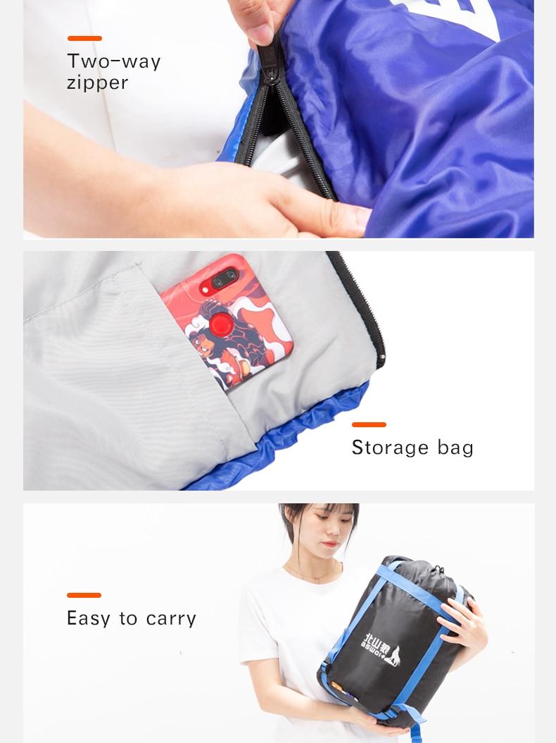 envelope mochila saco de dormir para adulto