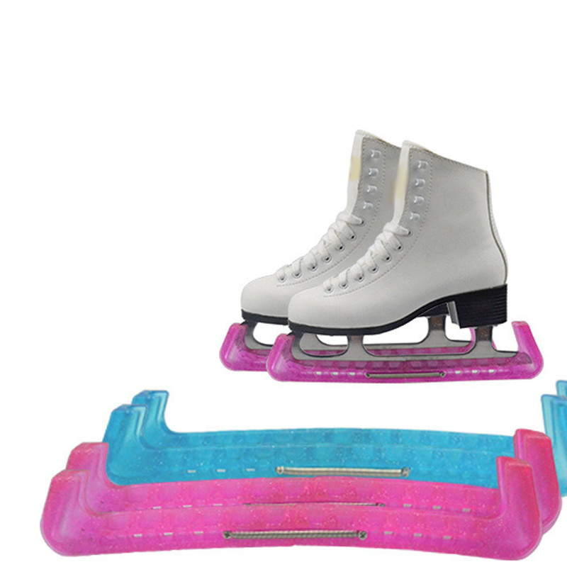 Universal 2 Pcs Skate Blade Guard Cover Skate Blade Guard Cover Protective Non-slip Prevent Skate Shoes Protector Accessories