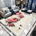 Большой размер  прямоугольные 3D коврики  ковры в китайском стиле  гостиная  спальня  цветок  ковер  рабочий диван  журнальный столик  напольн...