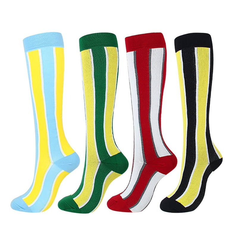 H23cdf00783d04f2e9932d749c55c82643 - New Autumn Women Men Knee-High Socks Long Printed Casual Style Hosiery Footwear Accessories Fashion Compression Socks