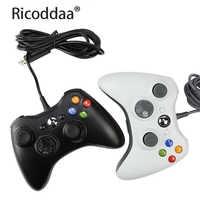 Cable USB juego de Joypad Gamepad para Microsoft sistema de juego portátil para computadora Windows 7 no para XBOX