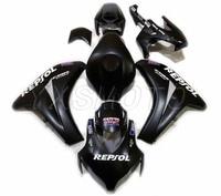 brand new ABS fairings CBR1000RR 2008 2009 2010 2011 black bodywork fairing kit cbr 1000 rr cbr1000