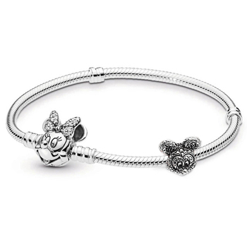 BRACE CODE Silver Plated 925 Snake Bone Chain Charm Bracelet Simple Temperament Bracelet Fit Men and Women Fine Bracelets Gift 4