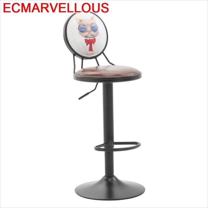 La Barra Silla Comptoir Stuhl Barstool Sgabello Stoelen Taburete Leather Tabouret De Moderne Cadeira Stool Modern Bar Chair