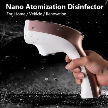 220V 1200W Disinfection High Temperature Steam ULV Fogger Hair Spray Machine Ultra Fine Aerosol Water Mist Trigger Sprayer