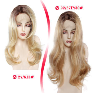 Wigs Blonde Lace-Fro...