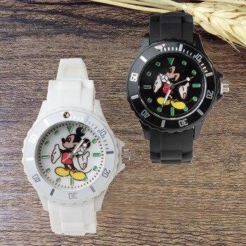 Mickey Mouse Children's Quartz Wristwatch gift kids watches boys and girls children watch kids watch Quartz Plastic Simple