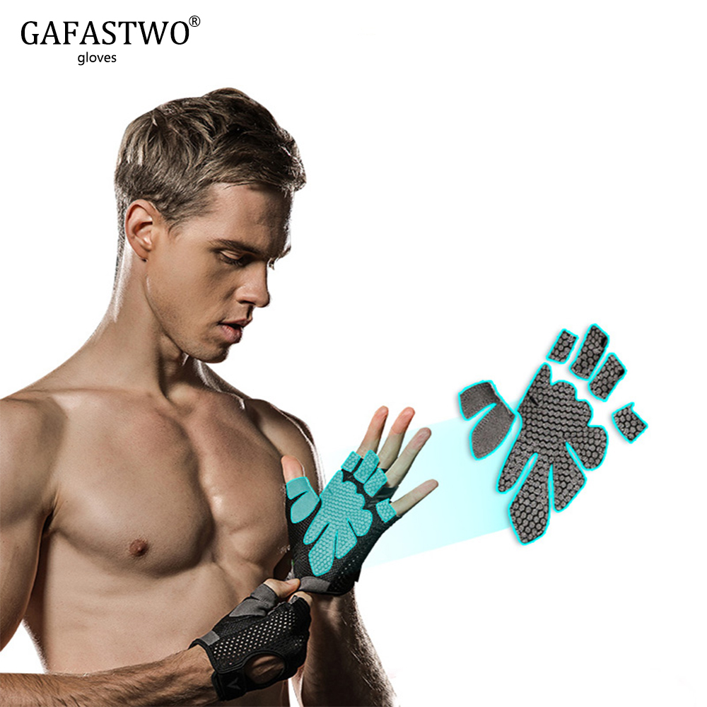 Gym Gloves Men And Women Dumbbell Equipment Horizontal Bar Exercise Wrist Training Half Finger Movement Pull-up