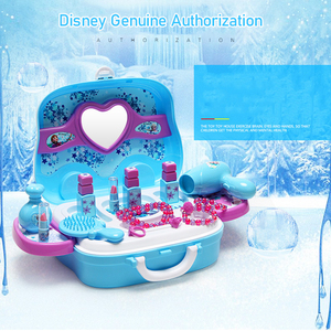 Image 2 - Disney girls toys princess toys frozen Dressing makeup toy set kids makeupfrozen toys Childrens dressing table toys toys toys