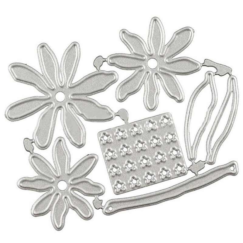 3D 花金属切削ダイス金型新花 Shasta デイジーカットはスクラップブック紙クラフトナイフ金型ブレードパンチステンシルダイス
