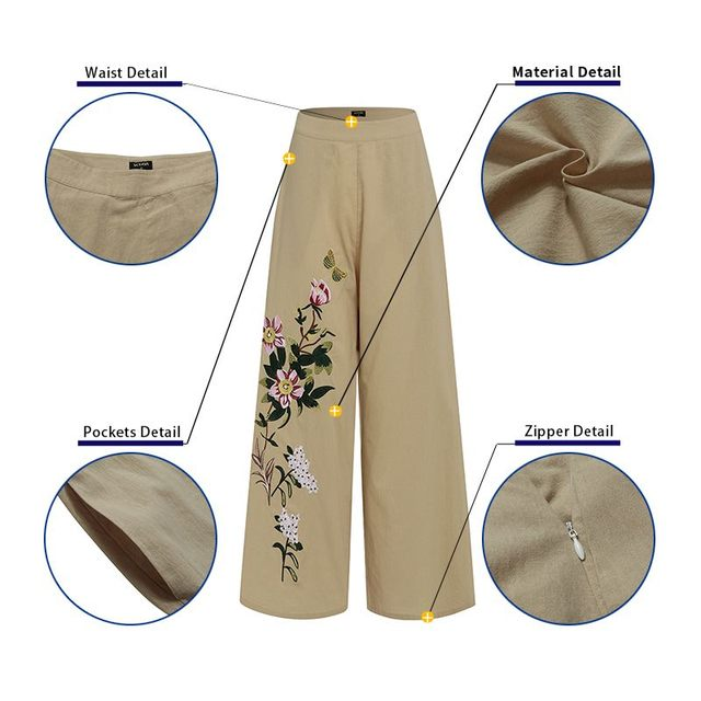 Embroidery Pants  5