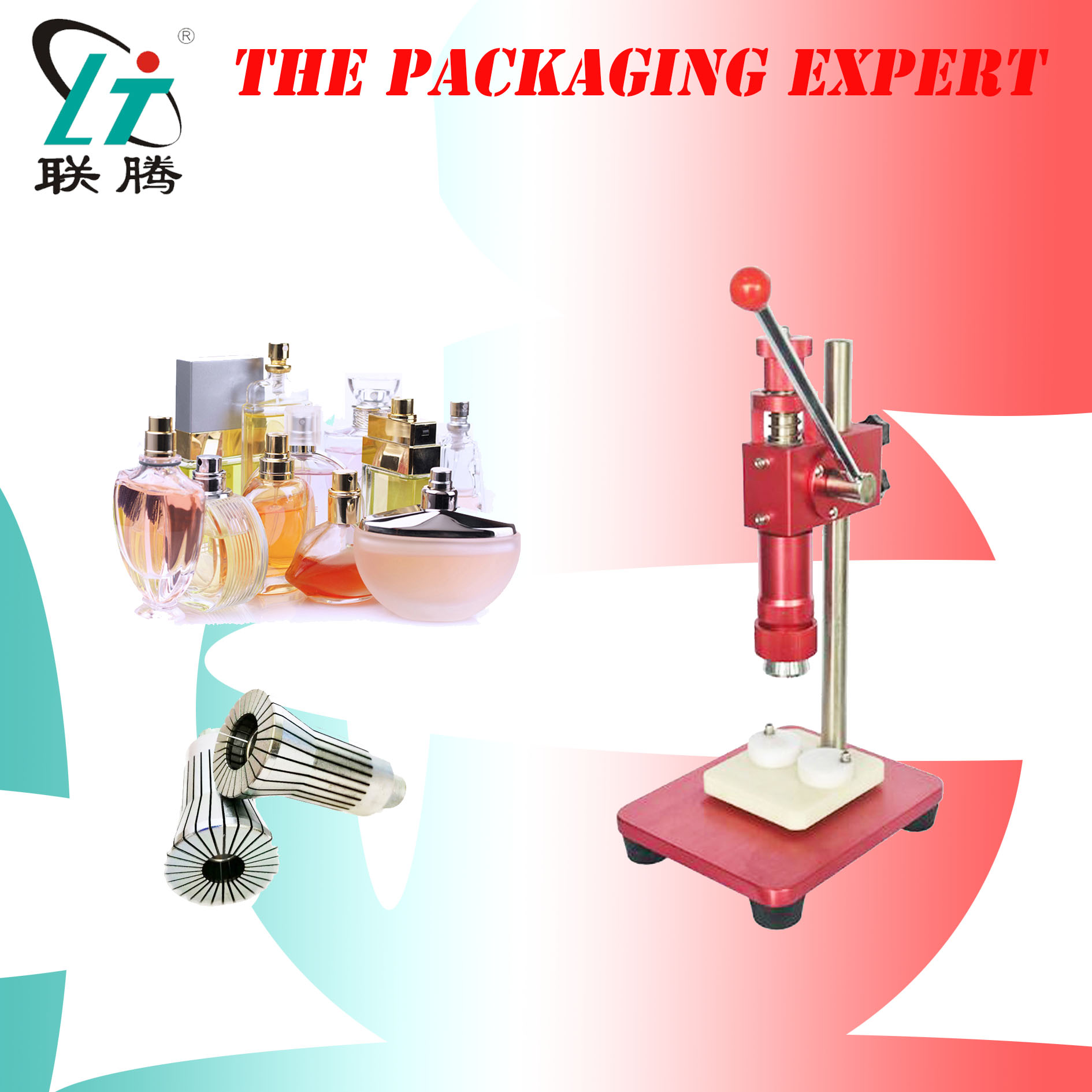 Manual Perfume Capping Machine Crimping Device Crimper Capper Metal Fragrance Cap Pressing Spray Collar Ring Free Shipping|  - title=