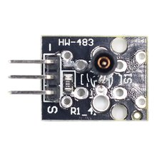 цена на KY-002 Vibration Switch Module Hot Sale Sensor SW-18015P For Arduino Durable Vibration Switch Module