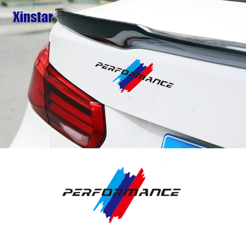 Performance M Mpower Car Tank Cap Sticker For BMW E46 E60 E61 E70 E71 E85 E87 E90 E83 F10 F20 F30 F35 M3 M4 M5 X1 X3 X5 X7 image